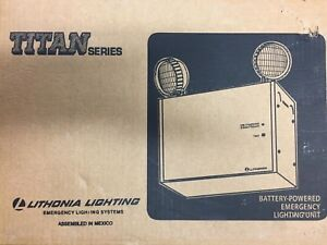 Lithonia Lighting Titan Series Battery powered Emergency Lighting Unit