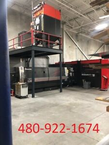 2017 Amada Ensis 3015 Aj Cnc Fiber Laser Cutting Fabrication 5x10 Table Size 3kw