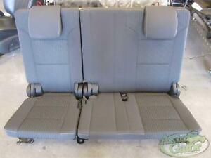 2017 Ford Expedition 3rd Row Rear Seat Bench Black Cloth Oem