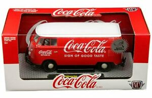 M2 Machines 1:24 Coca-Cola 1960 Volkswagen Delivery Van Diecast Car 50300-RW05
