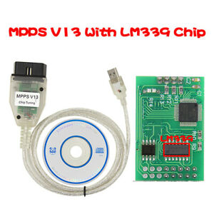 Mpps V13 02 Ecu Chip Remap Tuning Flash Usb Obd2 Interface K Can Diagnostic Tool