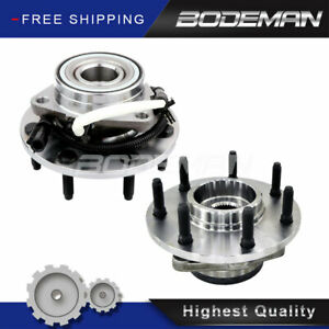 2 Front Wheel Hub Bearing For 4wd 2001 2003 Ford F 150 2004 F 150 Heritage 7 Lug