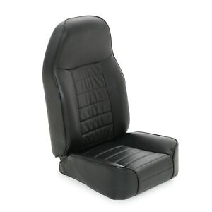 Smittybilt 44901 In Stock Front Standard Bucket Seat 76 02 Jeep Cj Tj Yj