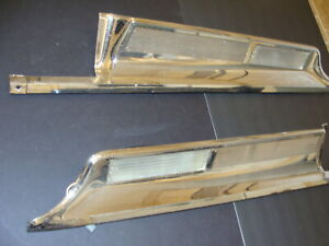 1962 Dodge Polara 500 Rear Finish Panel Oem 2252208 2252209