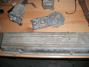 1957 57 Corvette Fuel Injection 57 W Valve Covers W Camshaft