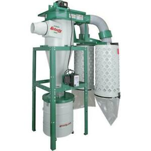 Grizzly G0601 220v 440v 5 Hp 3 phase Cyclone Dust Collector