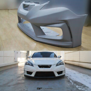 M s Ghost Shadow Front Bumper For Hyundai Genesis Coupe 2009 2012 pickup Only