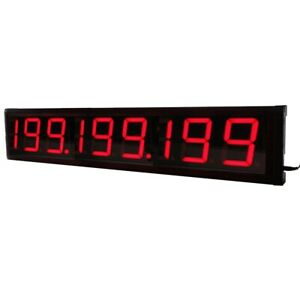 4inch 9 digits Led Digital Counter Seconds Countdown up Timer With Remote