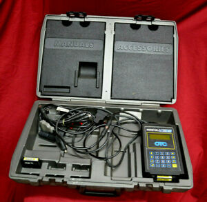 Otc Monitor 4000e Diagnostic System Scan Tool Case Manual Extras