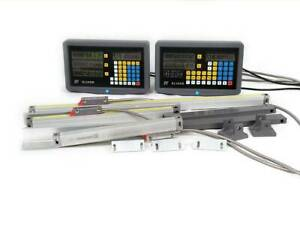 2 3 Axis Digital Readout Dro Ttl Linear Glass Scale Encoder For Milling Lathe