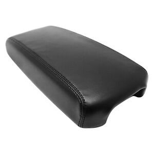 For 13 18 Nissan Altima Black Real Leather Center Console Armrest Cover