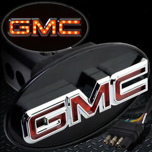Gmc Hitch Cover Licensed Led Light Trailer Towing Hitch Cover Receiver Chorm6061