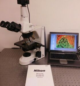 Nikon Eclipse 50i Trinocular Microscope With 5mp Camera System