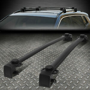 For 17 19 Jeep Compass Oe Style Roof Rack Rail Aluminum Cross Bar Cargo Carrier