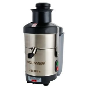 Robot Coupe J80 Ultra Automatic Juicer With Pulp Ejection 120v 3000 Rpm 6 5 L