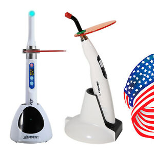 Usa Woodpecker Style Dental Wireless Iled Led Curing Light Lamp 1 Second White
