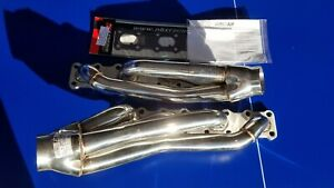 Nissan Titan Obx Stainless Steel Shorty Headers H11068 Fits 2004 2015