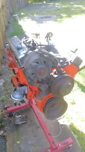 350 Chevy Truck Engine Motor Low Miles With Accessories