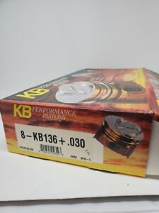 Kb136030 Keith Black Dome Pistons Ford 351w 4 030 Bore 3 500 Stroke 5 956 Rod