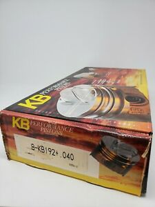 Keith Black Pistons Hypereutectic Dish 4 040 Bore Ford 302 Set Of 8 Kb192 040