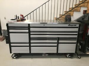 Snap On Epiq 84 Stainless Steel Top Power Drawer