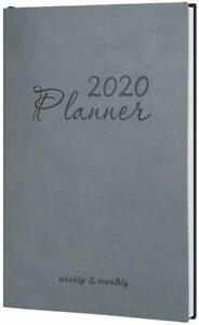 2020 Day Planner Monthly Weekly Leather Planner A5 Daily Work Life Agenda Book