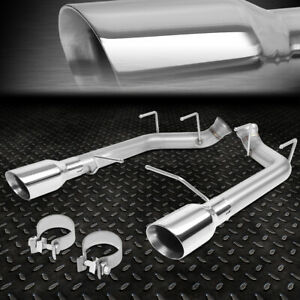For 11 14 Ford Mustang 5 0 5 4l Stainless Steel Axle Cat Back Exhaust W 4 od Tip