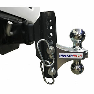 Shocker Xr Adjustable Combo Multi ball Mount 2 2 5 16 Hitch Balls
