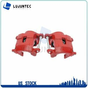Front Brake Calipers With Bracket For Buick Chevrolet Gmc 1 Pair Left Right