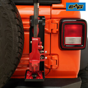 Eag Tailgate Hi Lift Jack Mount Bracket Fit 2007 2019 Jeep Wrangler Jk Jl