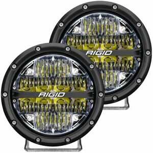 Rigid 36204 In Stock 360 Series 6 Led Off Road Lights White Backlight