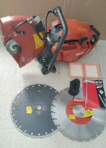 Hilti Dsh 700 14 Handheld Gasoline Cut Off Saw With 2 Blades Dsh700
