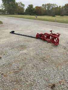 Massey 41 9ft Belt Drive Sickle Bar Mower With All New Teeth Free Shipping