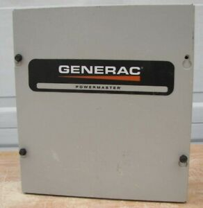 Generac Powermaster Generator Load Shedding Shed Power Lockout Transfer Switch