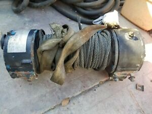 Ramsey Hydraulic Winch 8 Ton H 246 r 8 000lbs With Cable