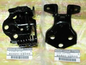 Genuine Nissan Patrol Safari Y60 Gq Safari Front Right Door Hinge Set