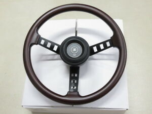 Real Wood Type Datsun Competition Compe Steering Wheel Replica 240z 510 Gc10