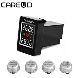 U912 External Car Tpms Tire Pressure Monitoring System Lcd Auto Alarm For Toyota