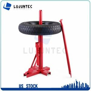 Manual Portable Hand Tire Changer Bead Breaker Mounting Home Shop Auto Diy Tool