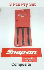 Snap On Tools 3 Pc Pry Set Specialty Composite Material New Ppn300
