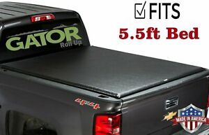For 2015 2019 Ford F 150 5 5 Bed Renoster Roll Up Tonneau Cover Free Light