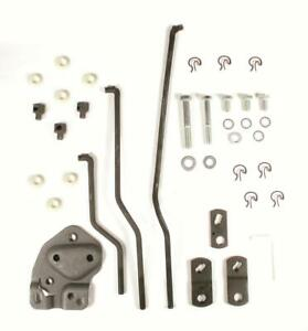 Hurst Shifter Installation Kit Competition Plus Borg Warner T 10 Chevy Kit