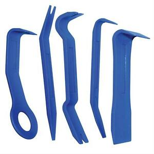 Automotive Tools 5 Piece Trim Fastener And Molding Removal Tool Kit 25314