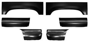 Wheel Arch Front Rear 8 Bed Panel Section Kit For 88 99 Gmc Chevy Ck Pickup
