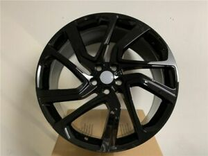 22x9 5 Dynamic Sport Style Gloss Black Rims For Land Rover Discovery Stormer