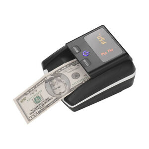 Counterfeit Detector Uv mg ir Money Counter Bill Cash Currency Counting Machine
