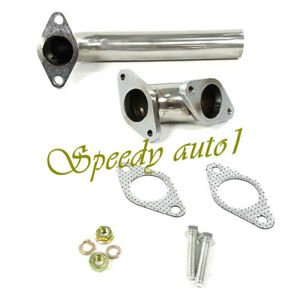 35mm 38mm Turbo Downpipe Dump Tube 90 Elbow Actuator Pipe Wastegate Stainless