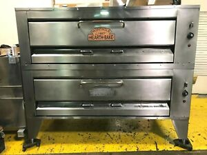Montague Double Deck Pizza Bake Oven New Stone Deck
