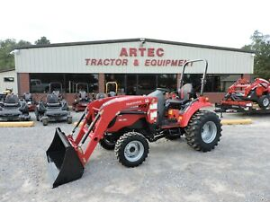 2019 Mahindra 1533 Tractor Loader Demo 4x4 Only 15 Hours