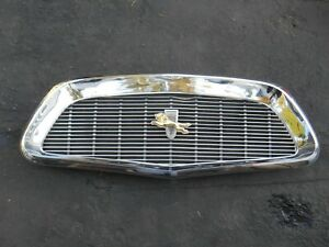 Mopar 1960 Chrysler New Yorker Grille 413 Windsor Saratoga 300f Dual Quad
